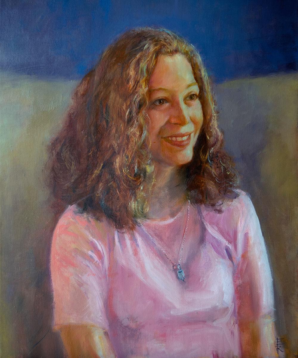 EVA-KULISZEWSKI-oil-portrait-by-artist-Elizabeth-Reed-FACeADE-Project-A portrait of diversity