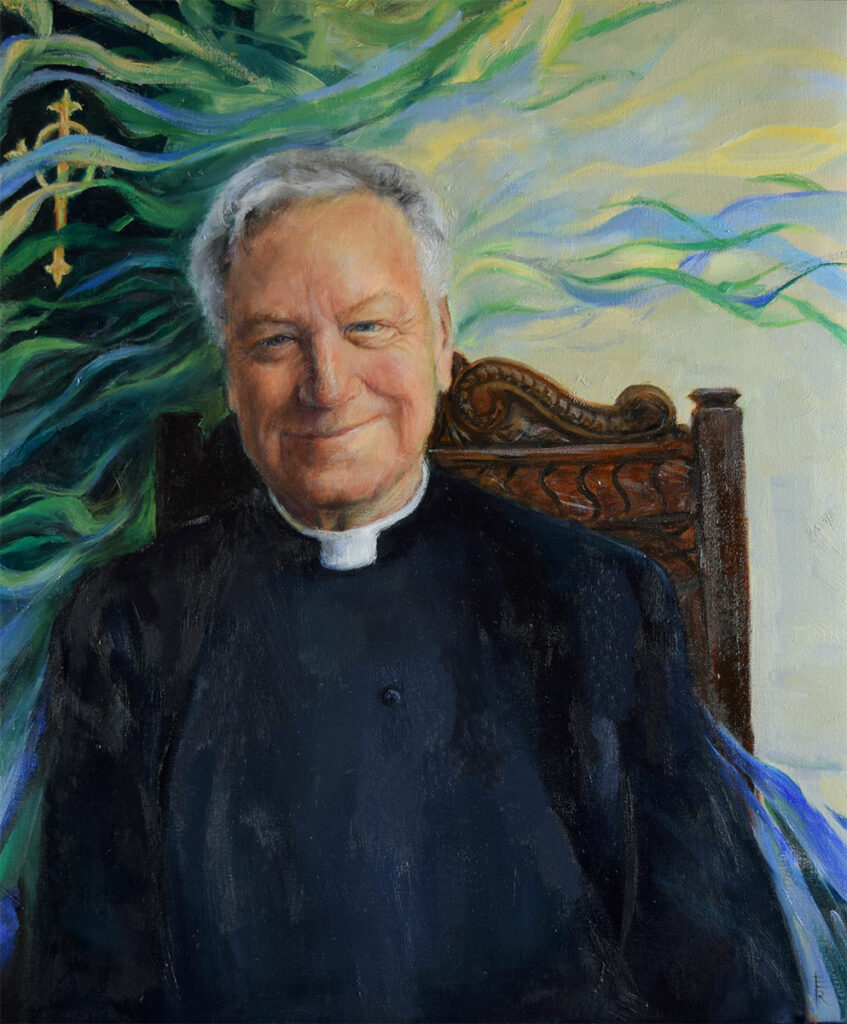 Father-Richard-Maxwell-painted-by-artist-Elizabeth-Reed-for-the-FACeADE-Project-A portrait of diversity