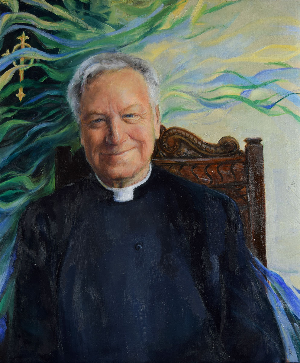 Father-Richard-Maxwell-painted-by-artist-Elizabeth-Reed-for-the-FACeADE-Project