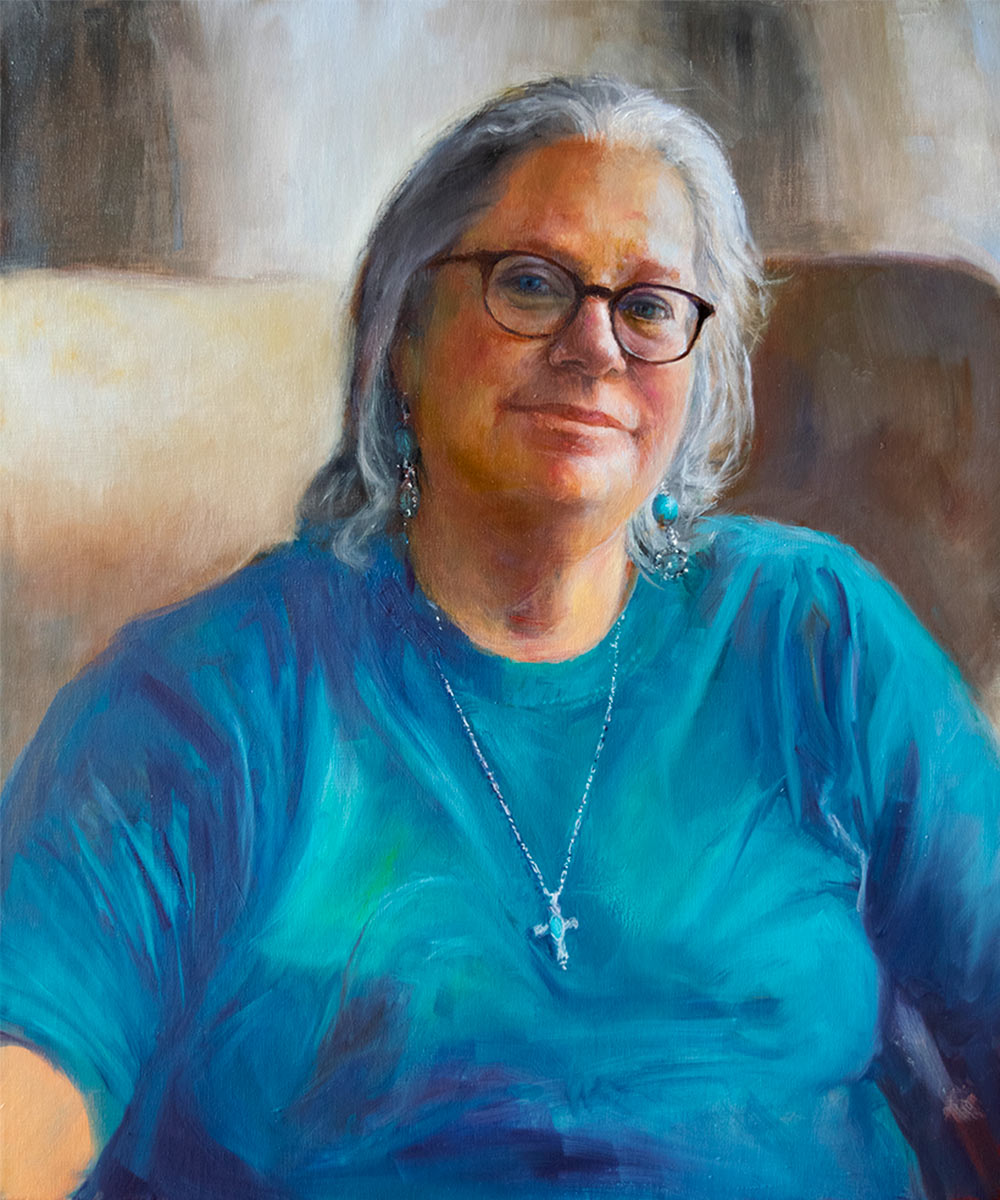 ROSE-VANCE-oil-portrait-by-artist-Elizabeth-Reed-FACeADE-Project-A portrait of diversity