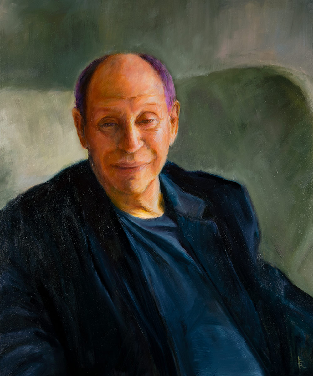 RUSSELL-HAMER-oil-portrait-by-artist-Elizabeth-Reed-FACeADE-Project