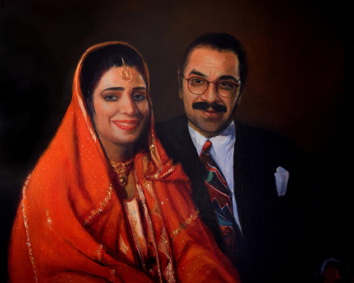 Sumbla and Khalid Pervaiz