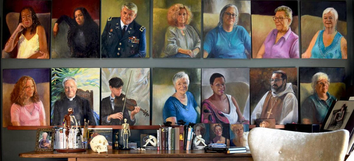 The FAÇeADE Project by Artist Elizabeth Reed A portrait of diversity