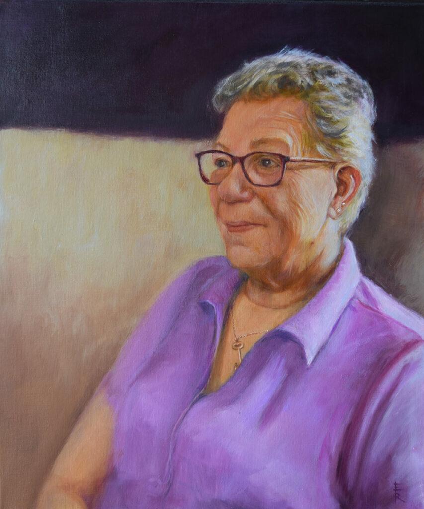 VAL-JENNINGS-oil-portrait-by-artist-Elizabeth-Reed-FACeADE-Project-A portrait of diversity