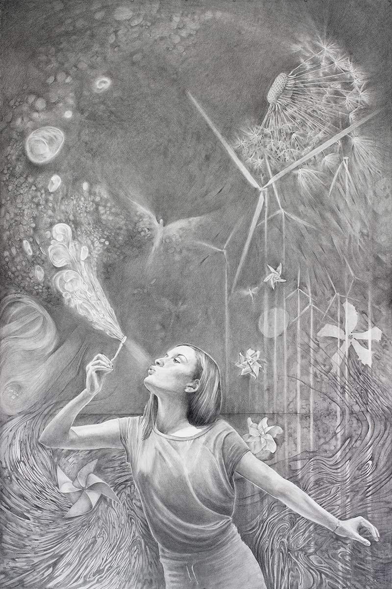 Fine art portraits by artist Elizabeth Reed