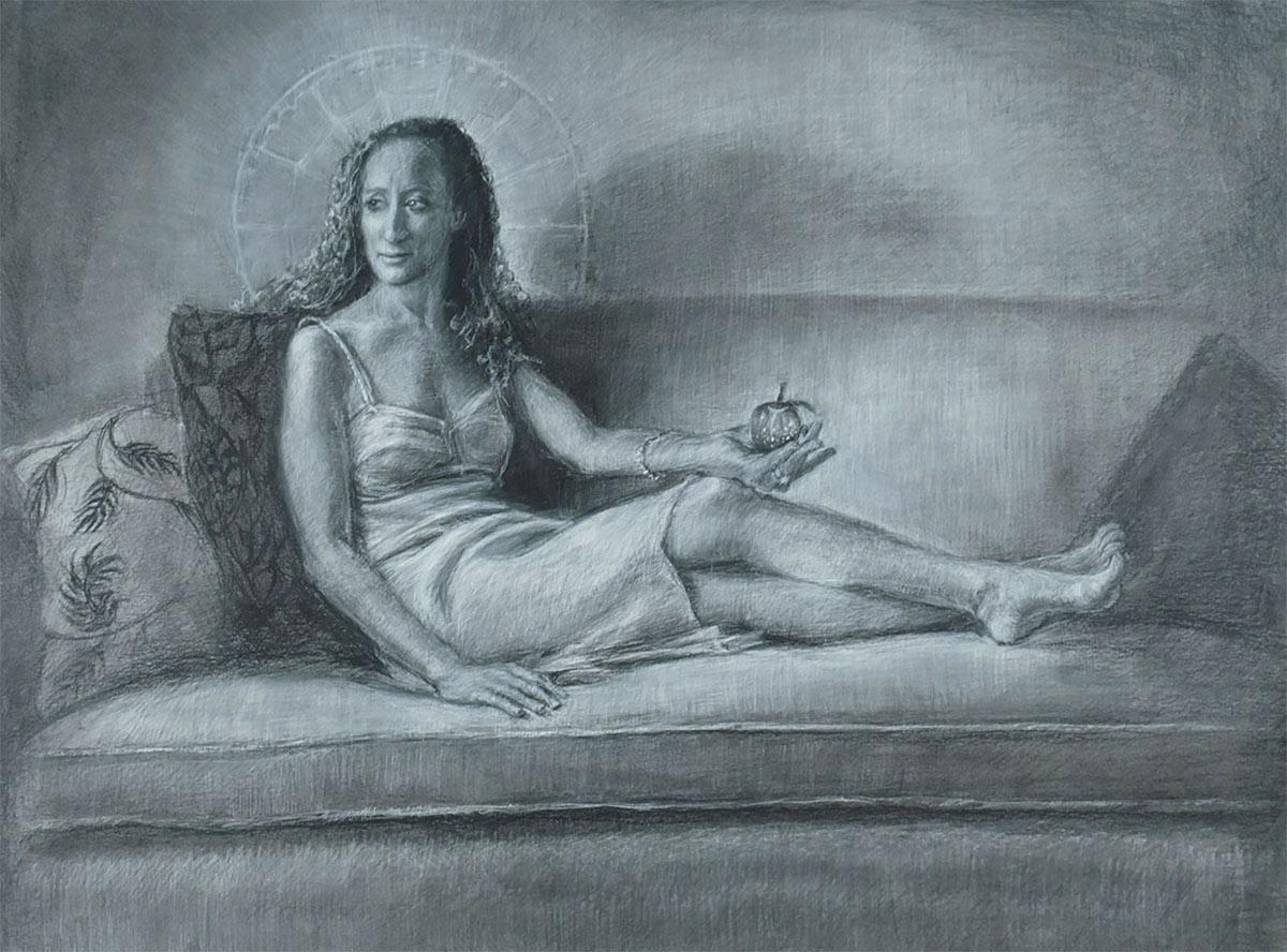custom oil portraits by artist Elizabeth Reed