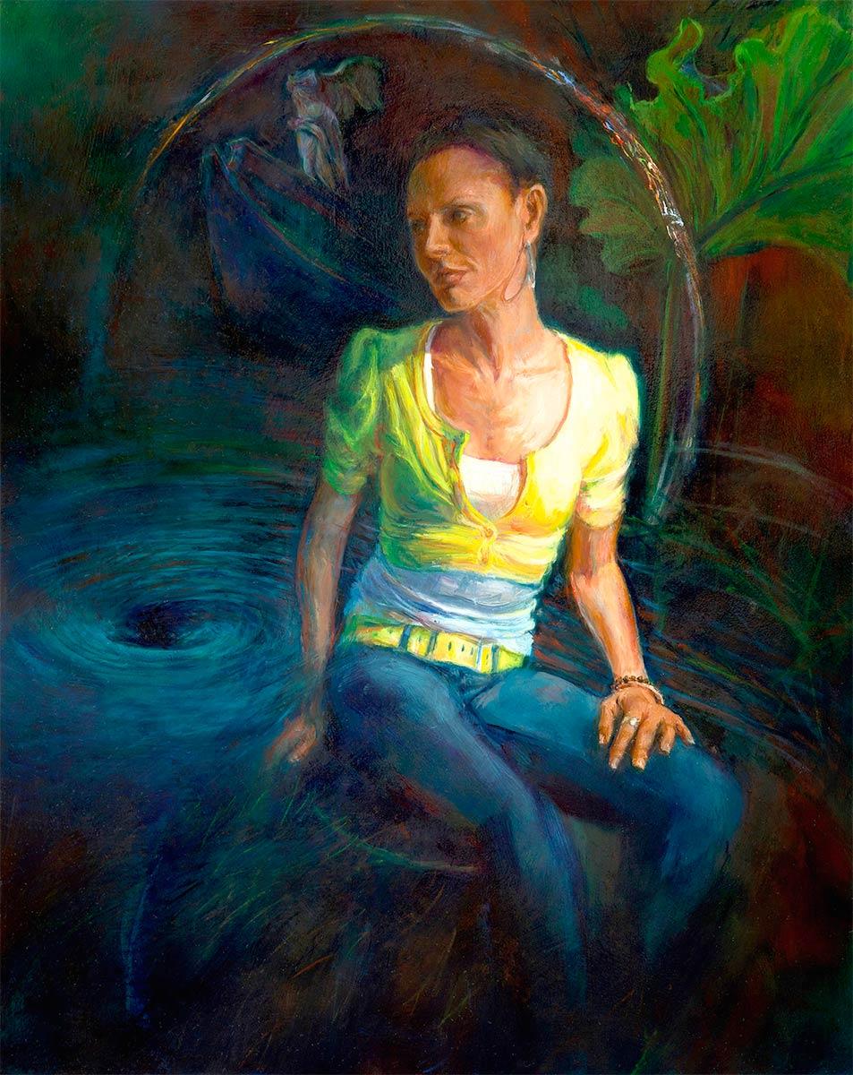 NIKE-figurative-oil-painting-by-artist-Elizabeth-Reed
