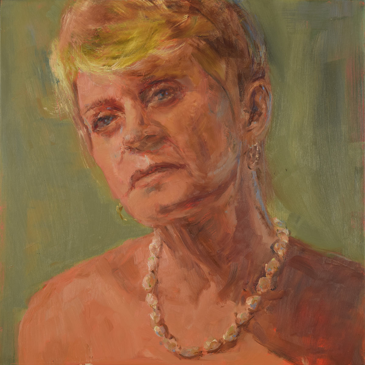 Self-Portrait-at-61-oil-paintiing-by-srtist-Elizabeth-Reed