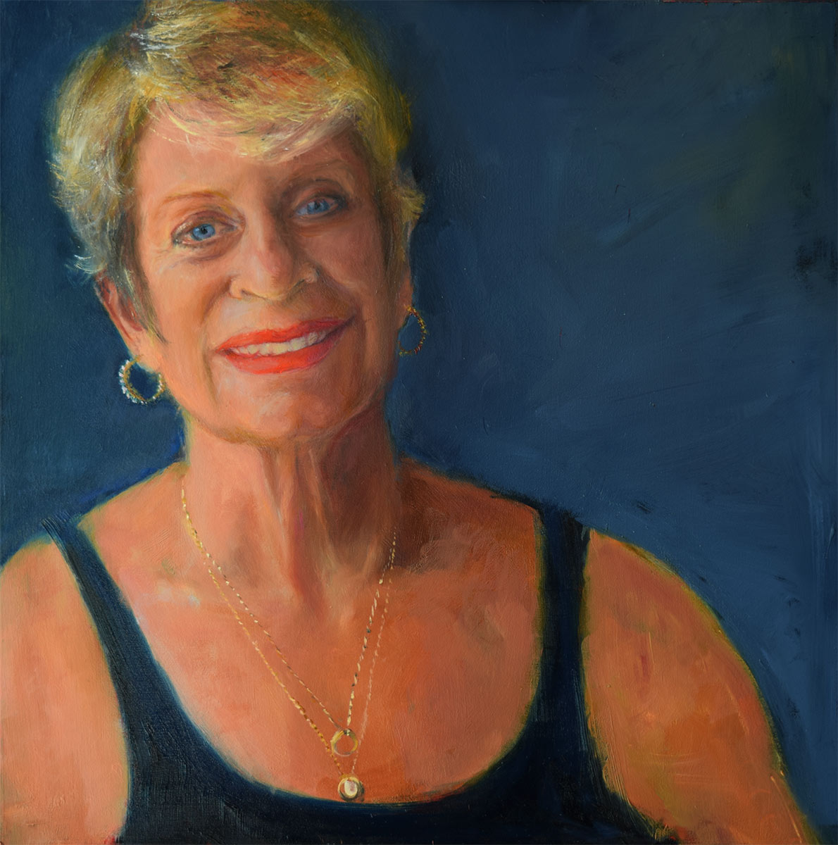Self-Portrait-at-63-oil-painting-by-Elizabeth-Reed