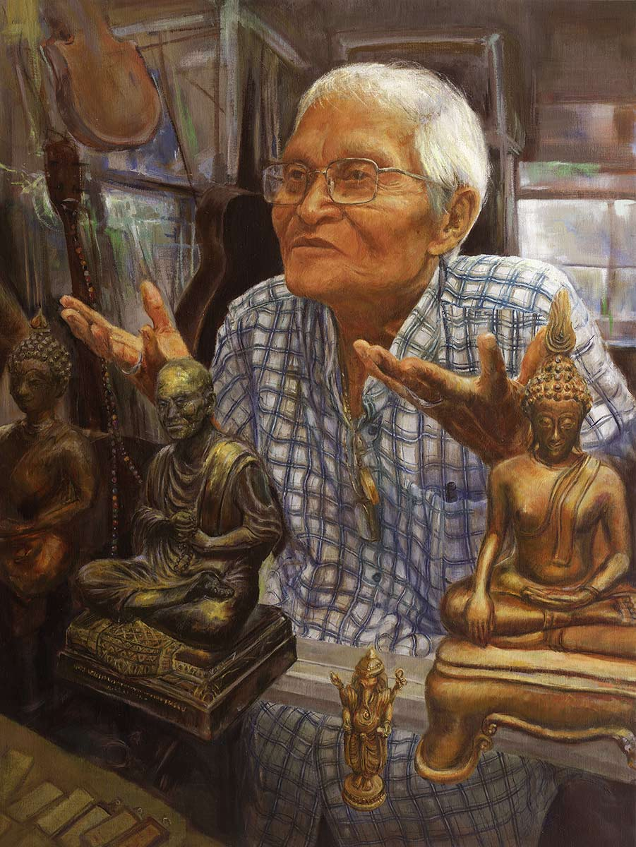 The Bangkok Amulet Salesman