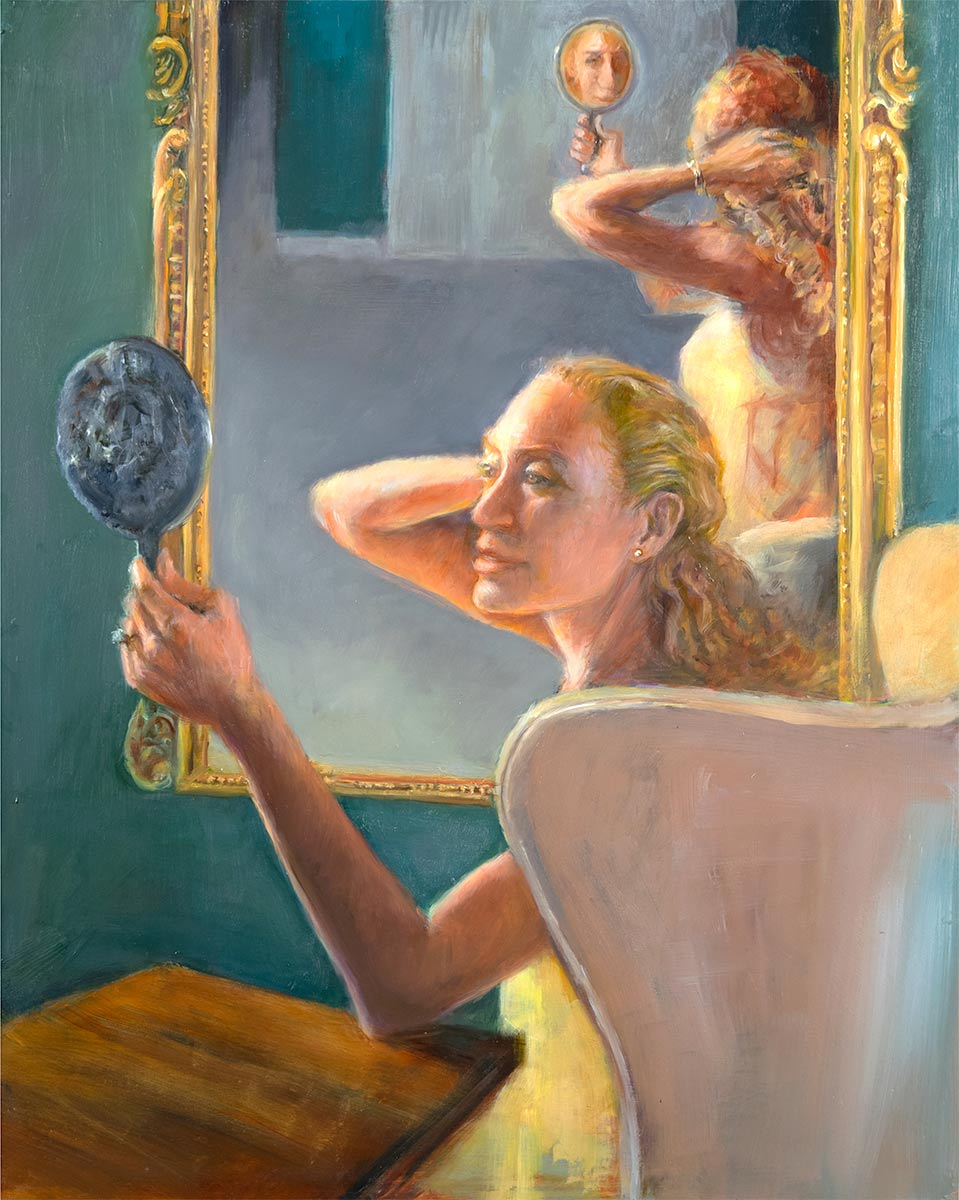 The-Ring-oil-figurative-painting-by-artist-Elizabeth-Reed