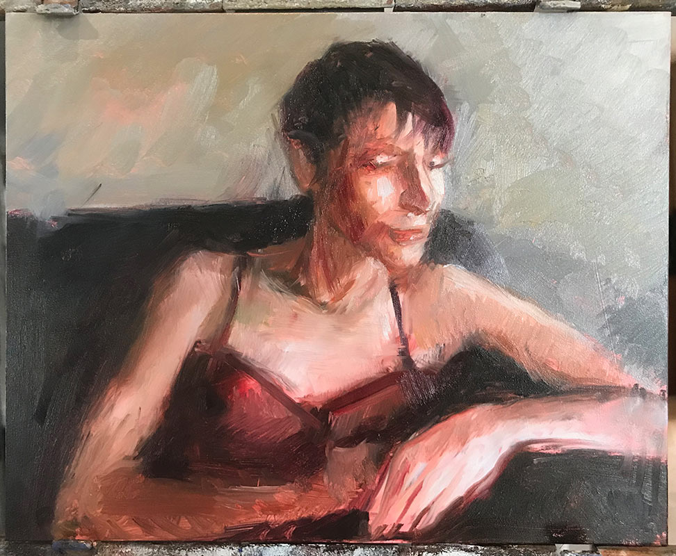 Seventh-process-photo-of-portrait--of-Noelle-by-artist-Elizabeth-Reed