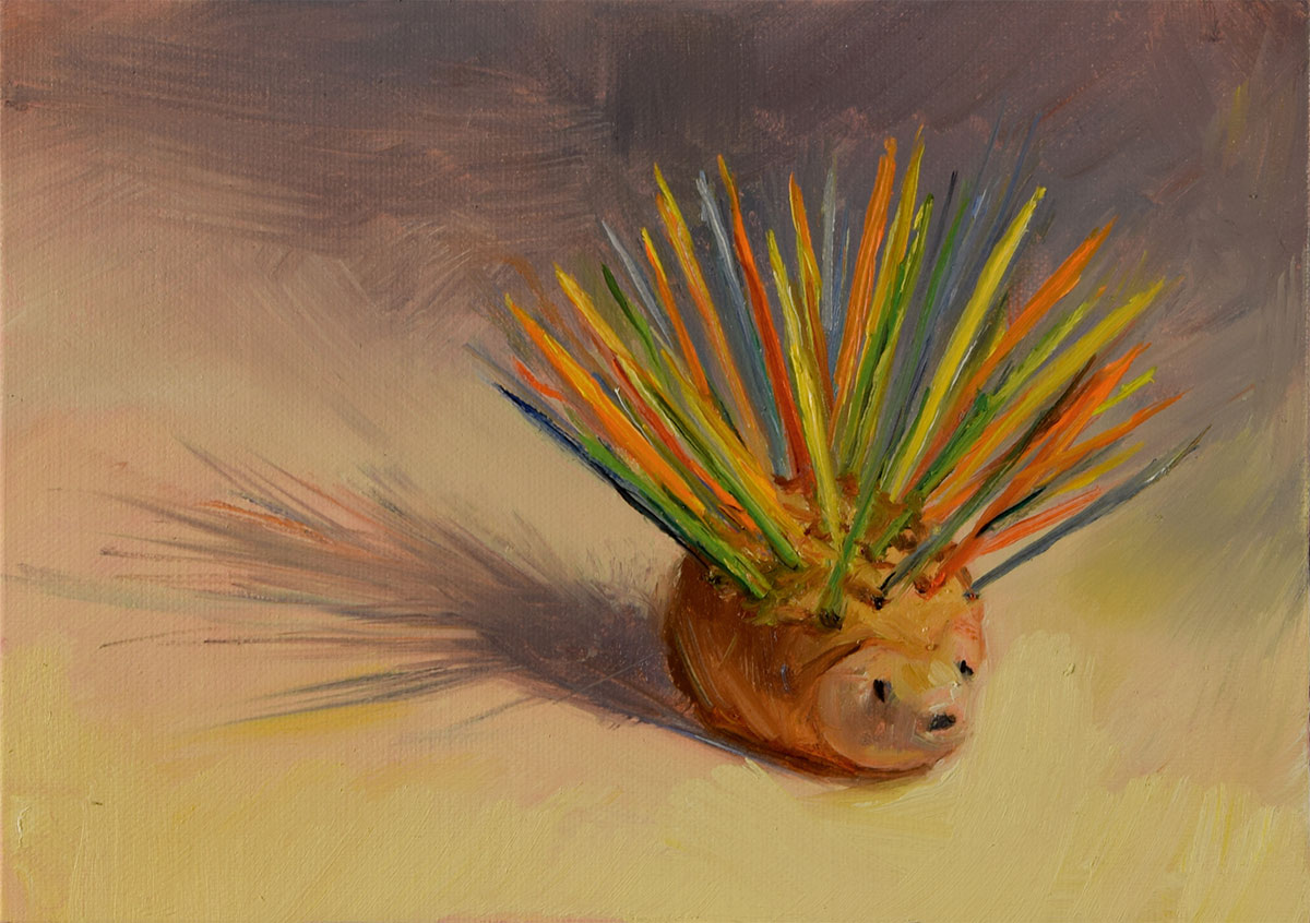 Porcupine toothpick dispenser Elizabeth Reed capturing the spirit of people and places we Sipped and Sassed