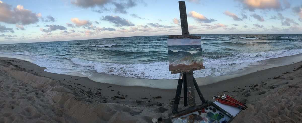 Late Afternoon Light Panoramic